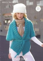 Sirdar Big Softie - 9355 Jacket Knitting Pattern